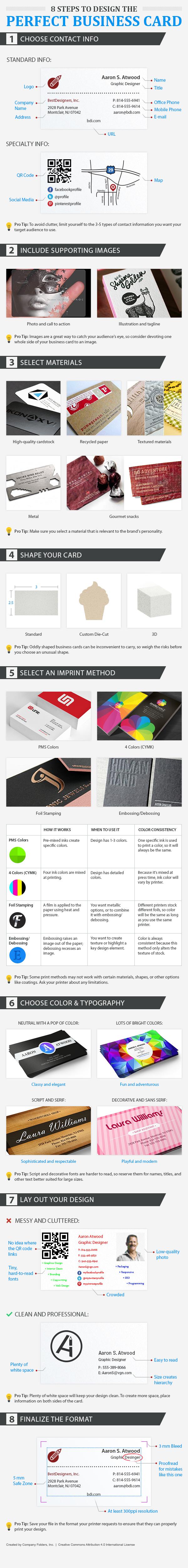 Business Card Design Tips