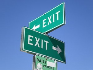 The arguments for and against early exit strategy